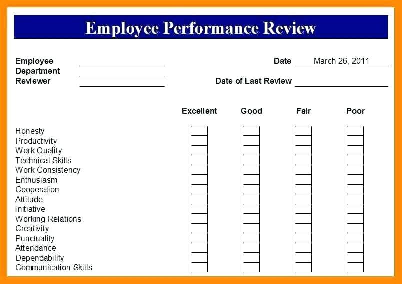Image result for free employee evaluation forms printable desk