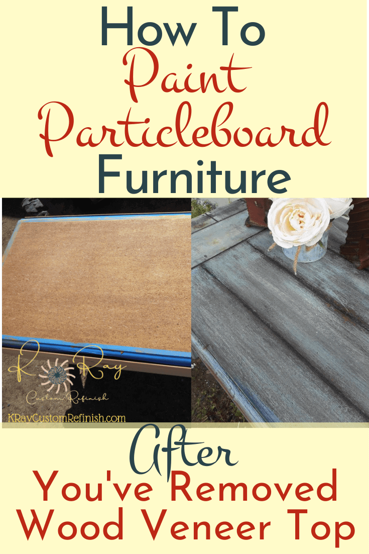 How to paint particle board furniture to look like a barn door! #diy #farmhouse