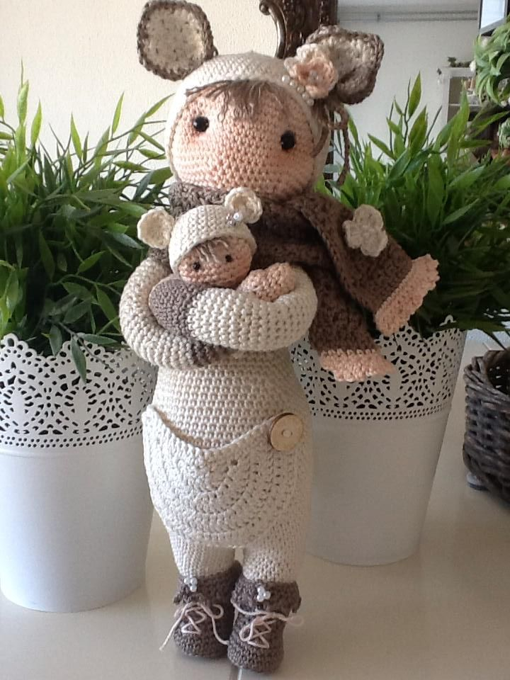 Made by Thea S (Lalylala)KIRA the kangaroo made by Thea S. / crochet ...