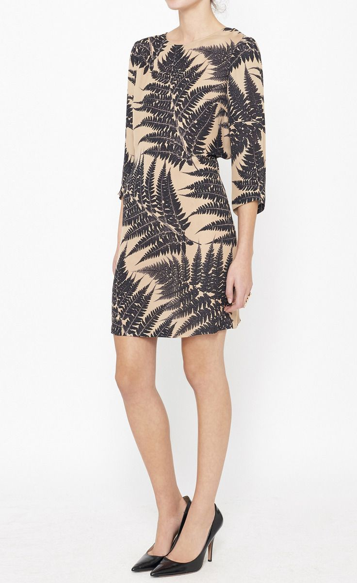 Stella mccartney beige and black dress vaunte style beauty