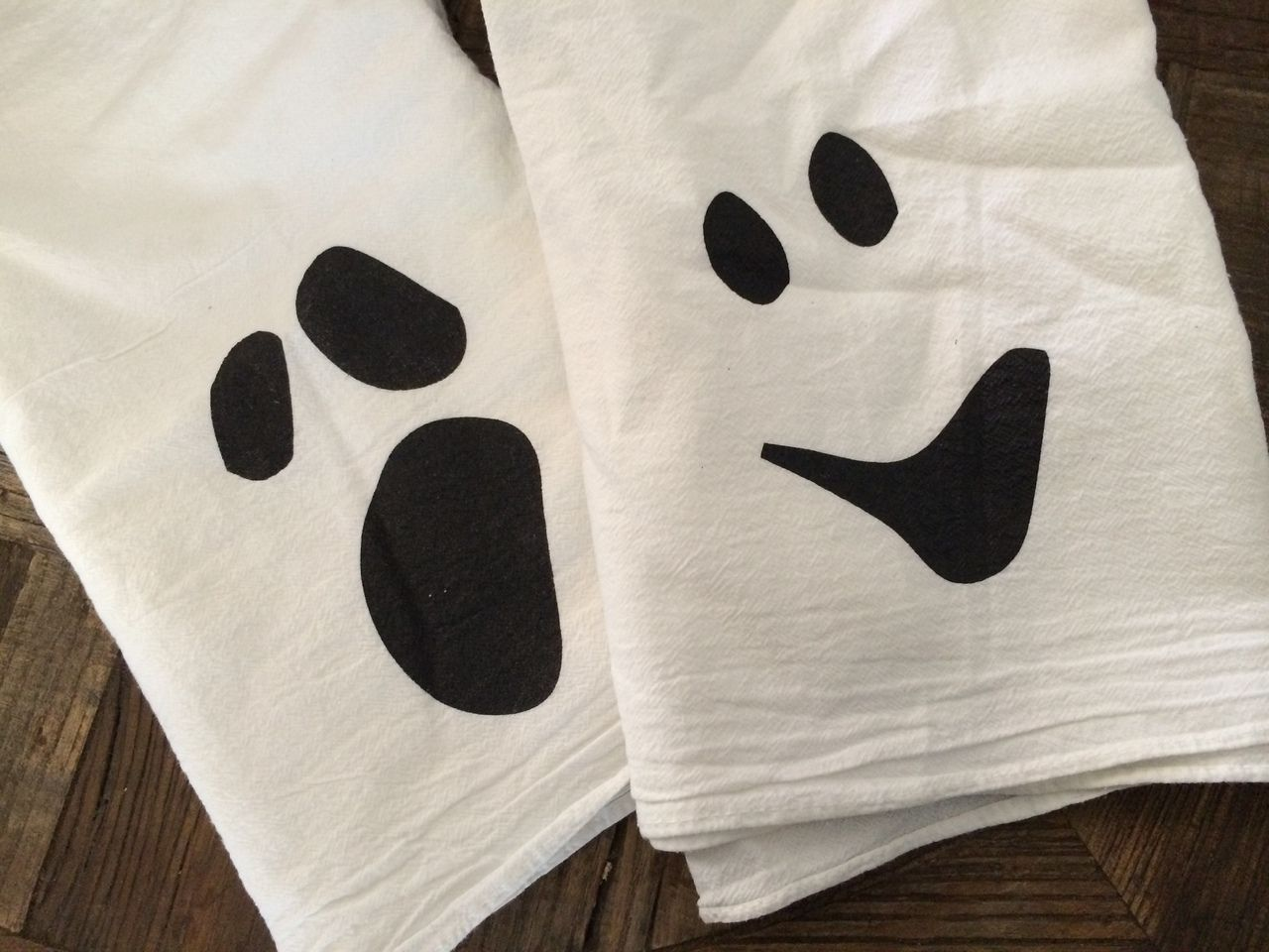 Ghost Dish Towels - Set of 2