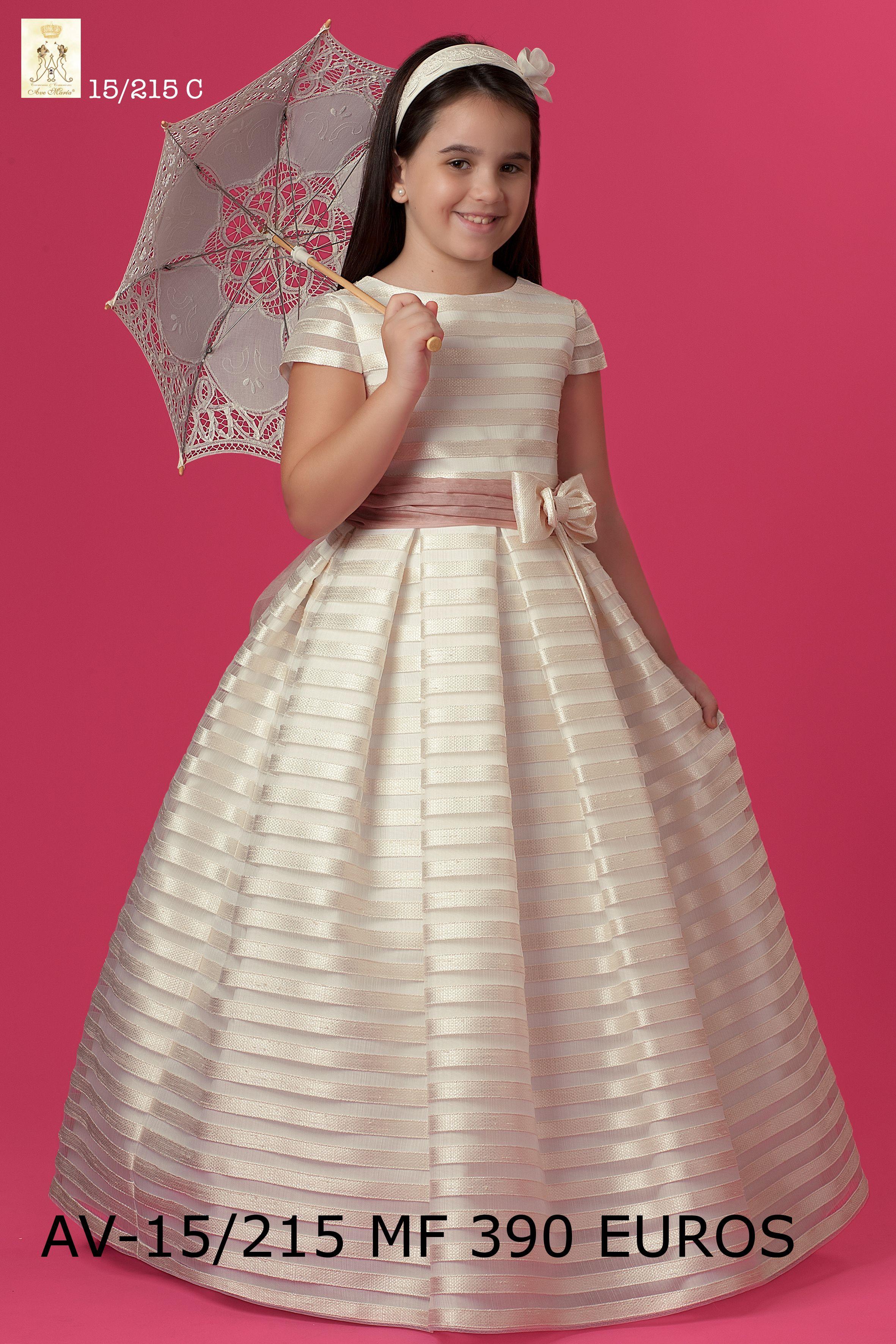 Modelo de Colección 2014 #NoviasCira en Organza seda rayada marfil ...
