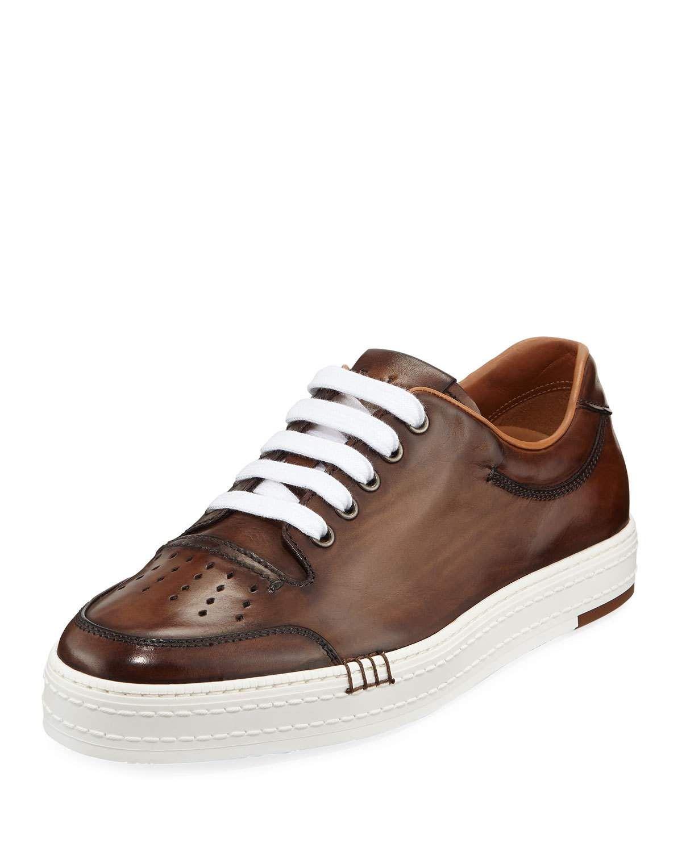 6b605b85 BERLUTI MEN'S PLAYTIME LOW-TOP SNEAKERS. #berluti #shoes | Berluti ...