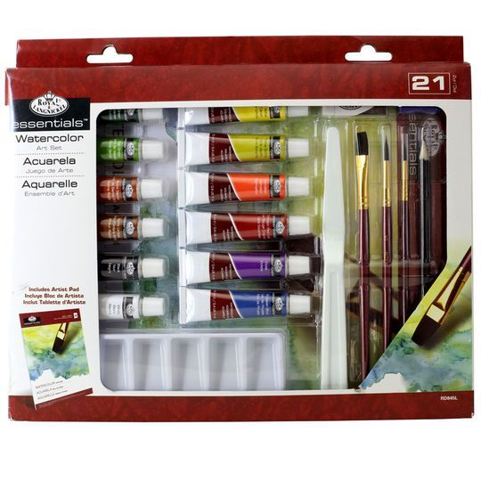 Royal Langnickel Essentials Watercolor Art Set Paint