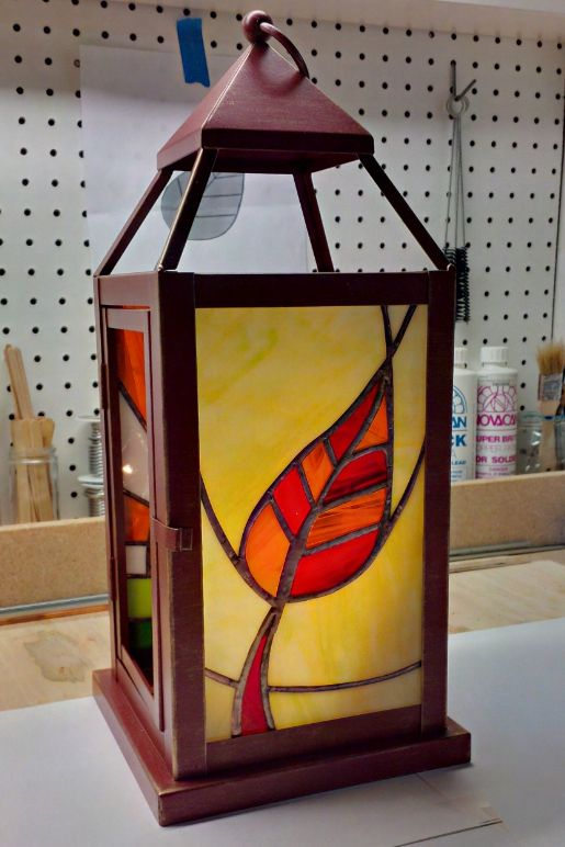 My '4-Season' lantern. Almost done