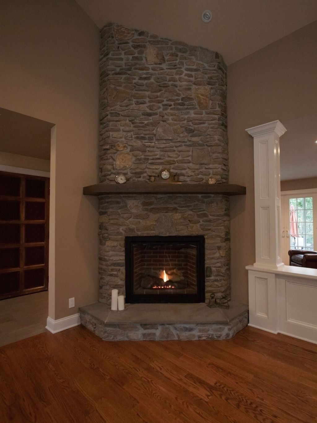 The Best Corner Fireplace Ideas For Your Living Room 51 ...