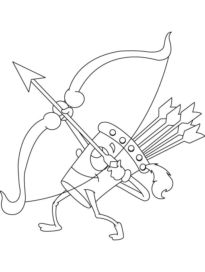 Wow Quiver Shooting Coloring Page Coloring Pages Coloring Pages Inspirational Shark Coloring Pages