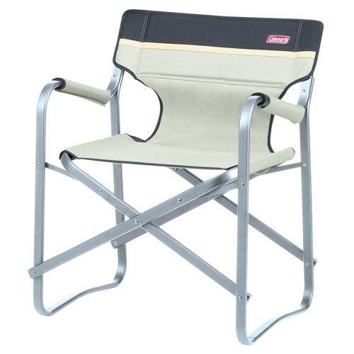 Coleman Deck chair Khaki: Amazon.co.uk: Sports & Outdoors