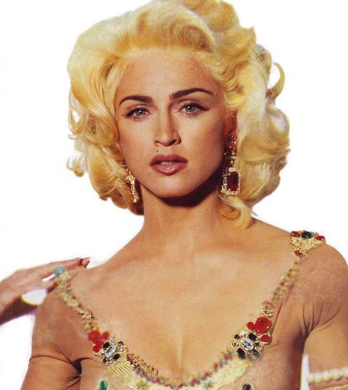 Madonna ph Steven Meisel in 1990