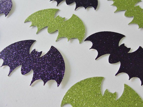 Pin for Later: More Smiles Than Scares: 17 Cute Halloween Decorations For Kids Halloween Bat Cutouts