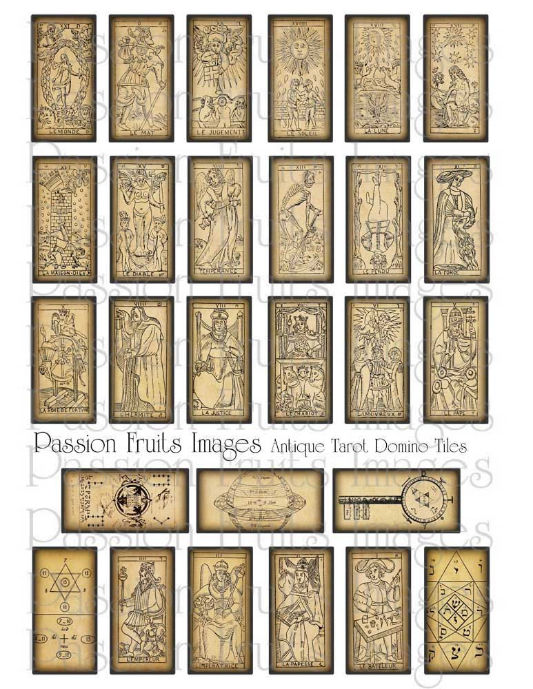 graphic relating to Free Printable Tarot Cards known as Pinterest