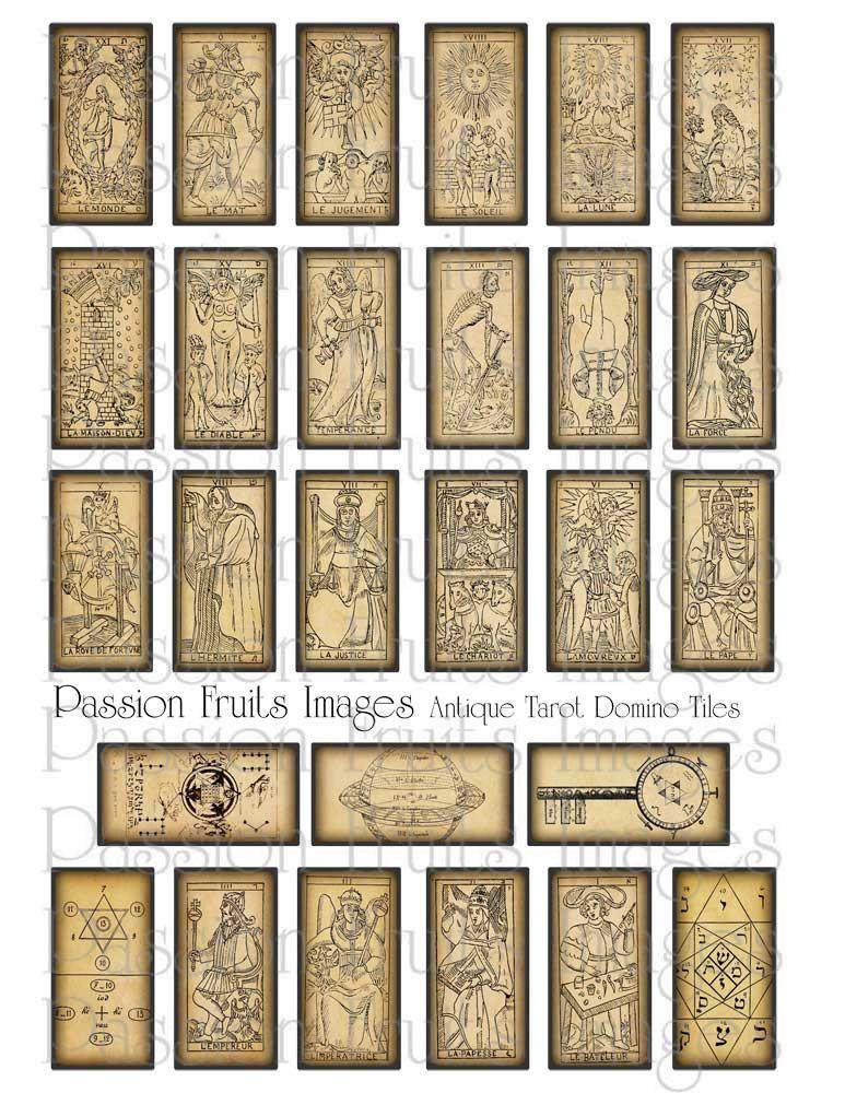Image result for free printable tarot decks tarot cards