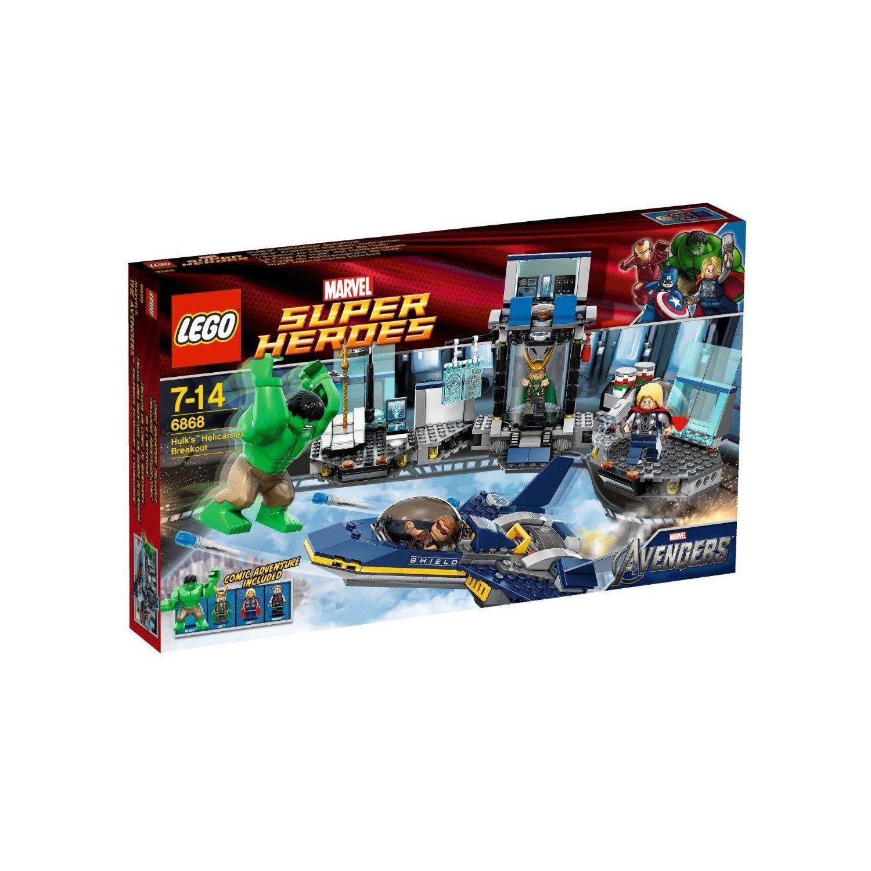 Heroes En Jeu Super Lévasion Lego 6868 De Construction NZOnP8w0kX
