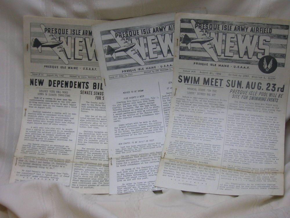 presque isle maine newspaper