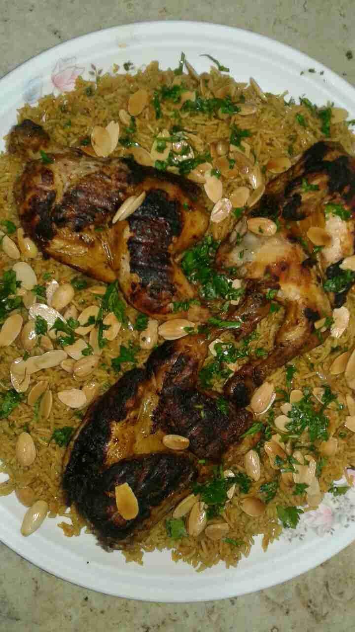 الكبسة السعودية أين عشاق هذه الأكلة الشهية زاكي Main Dishes Rice Dishes Food