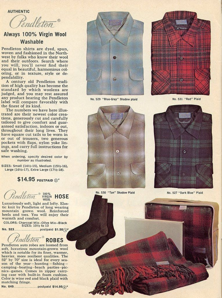 92078423f3f Check out the OEM attire page to buy Pendleton Board shirts of a similar  vintage! (No bathrobes