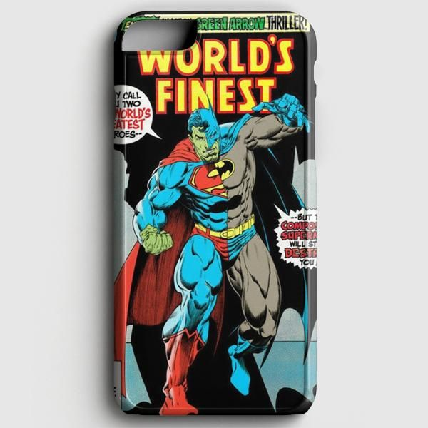 Batman and Superman Vintage Cover iPhone 8 Case Products