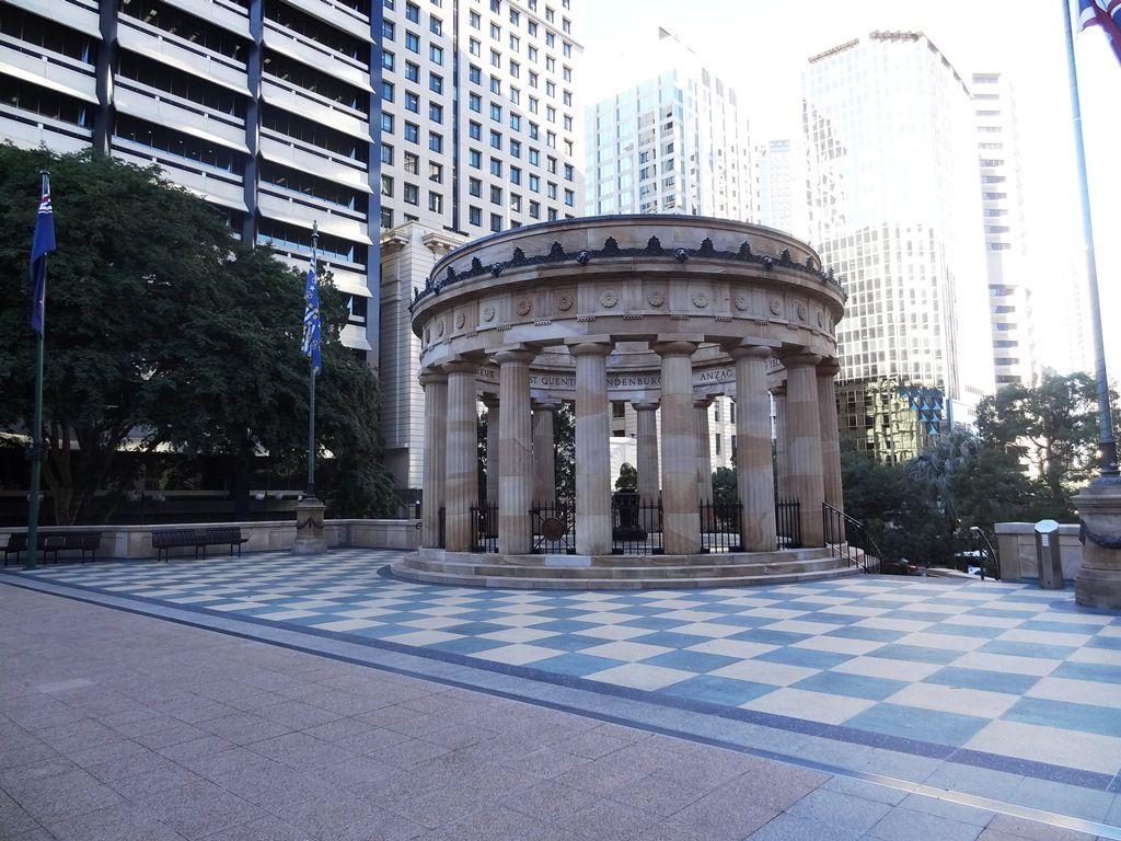 Shrine of Remembrance Anzac monument Brisbane Australia