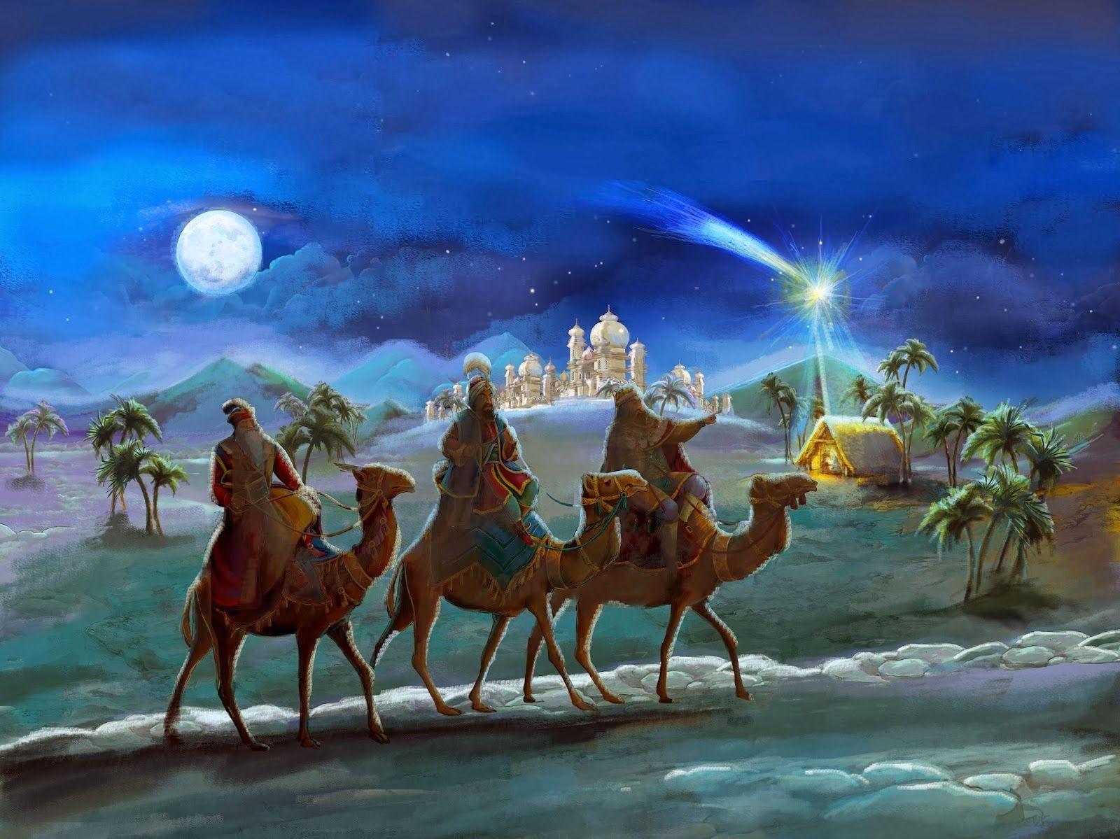 Fondos Verdes De Navidad Para Pantalla Hd 2 Hd Wallpapers: Fondos Navidad Reyes Magos Para Fondo De Pantalla En 4K 7