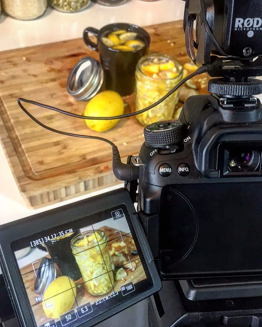 A little BTS action. I come up with the recipes make the food do production/filming do the dishes and the distribution but I have an editor who is a huge help to getting the show videos to you every Tuesday. Excited to grow the team and deliver more value!