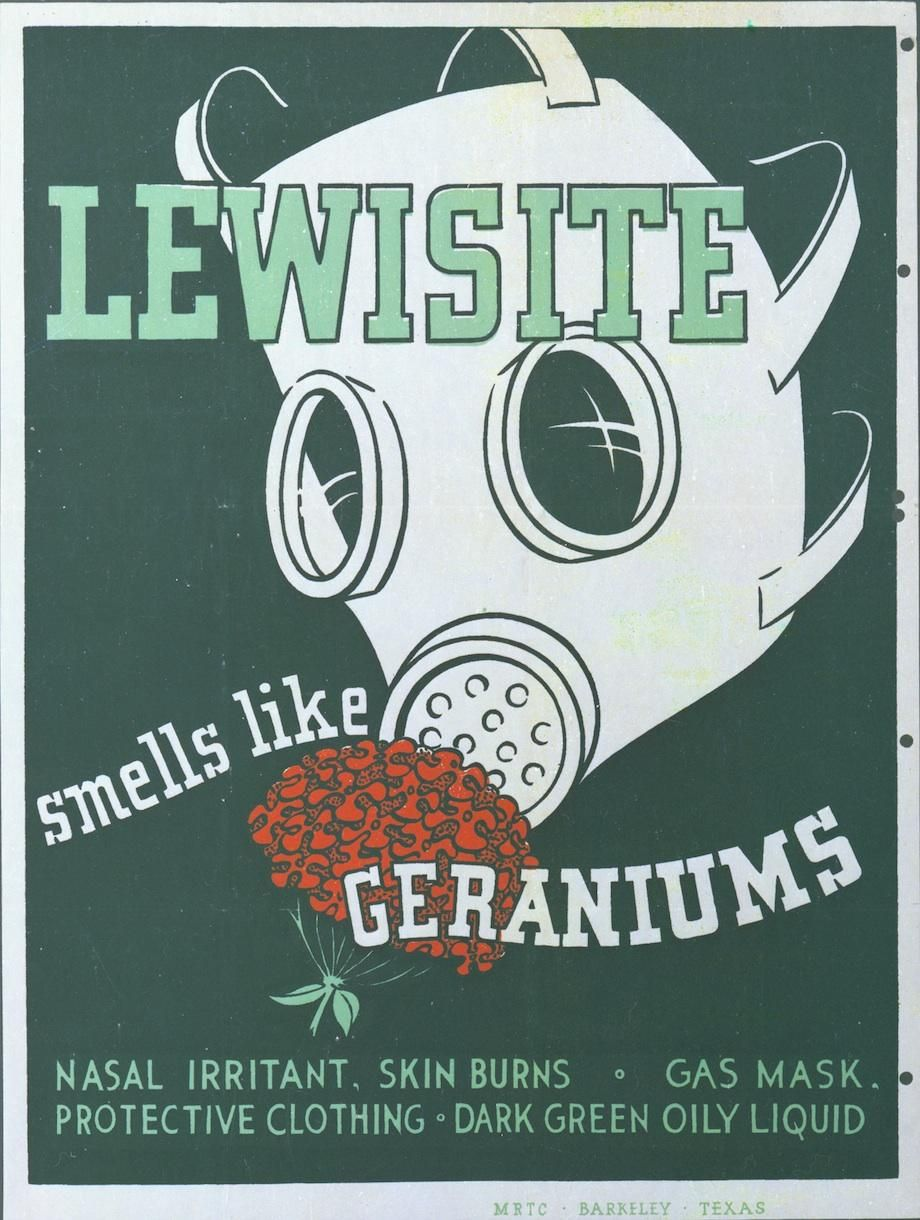 Four WWII Posters That Taught Soldiers to Identify Chemical ...