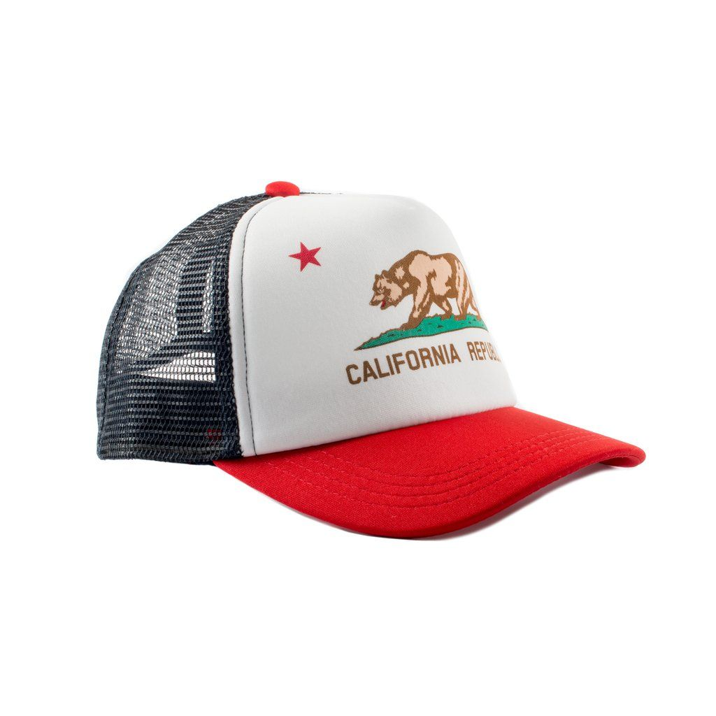4071f6fb4f4 California Republic Trucker Hat – Born To Love Clothing