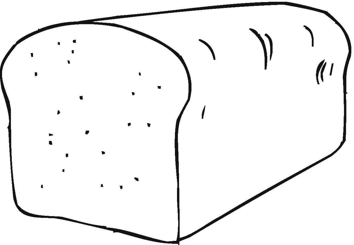 Coloring Pages Bread Coloring Pages Fish Coloring Page