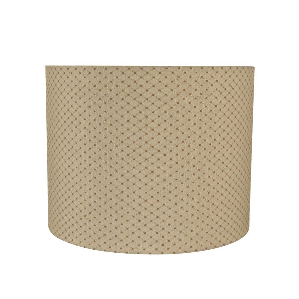 Aspen Creative Corporation 14 In X 11 In Beige Drum Cylinder Lamp Shade 31038 Lamp Shades Small Lamp Shades Rustic Lamp Shades