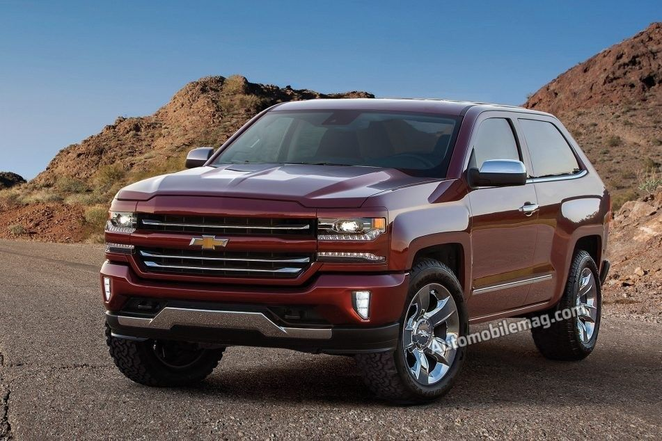 The 2019 Chevy Blazer K 5 New Model And Performance Release Car