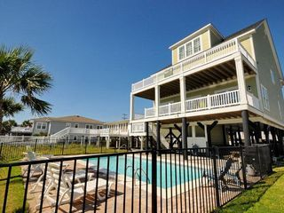 landshark luxury oceanfront cherry grove home with game room and rh pinterest com