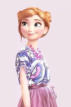 #anna #frozen #arendelle #clothes #cute #pink #fashion