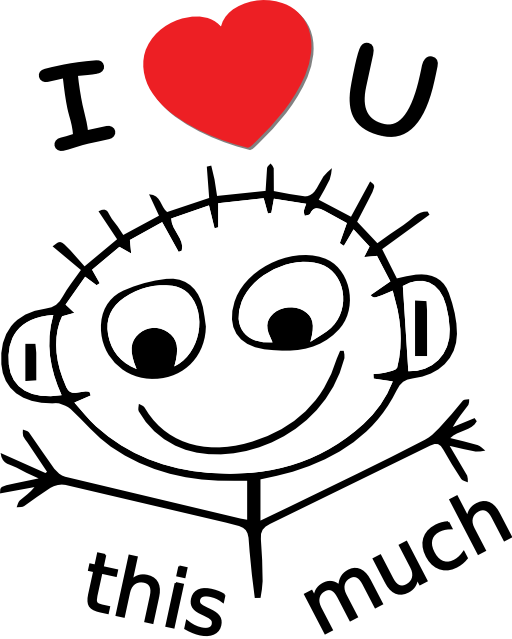 i love you clipart funny pinterest rh pinterest com i love you clip art sign language i love you clipart black and white