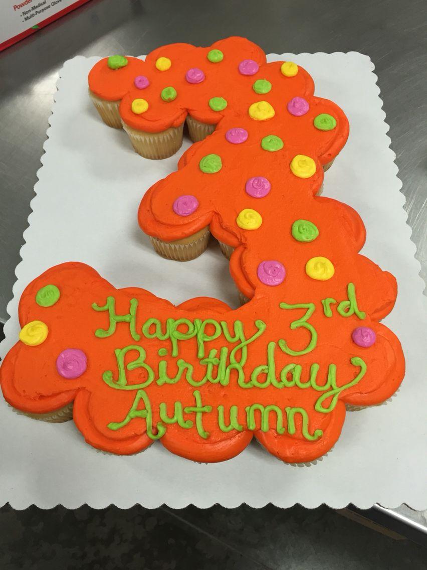 3 Cupcake Cake