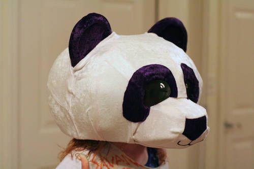 cabeza panda
