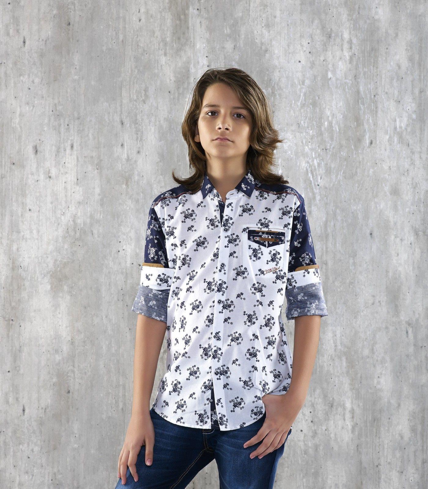 a04e444e8 BLAZO COTTON BOYS SHIRT Boys Blazo Brand shirt with full sleeve Regular fit  Casual plain Shirt. This shirt Has Same color placket and Wide Spread  collar.