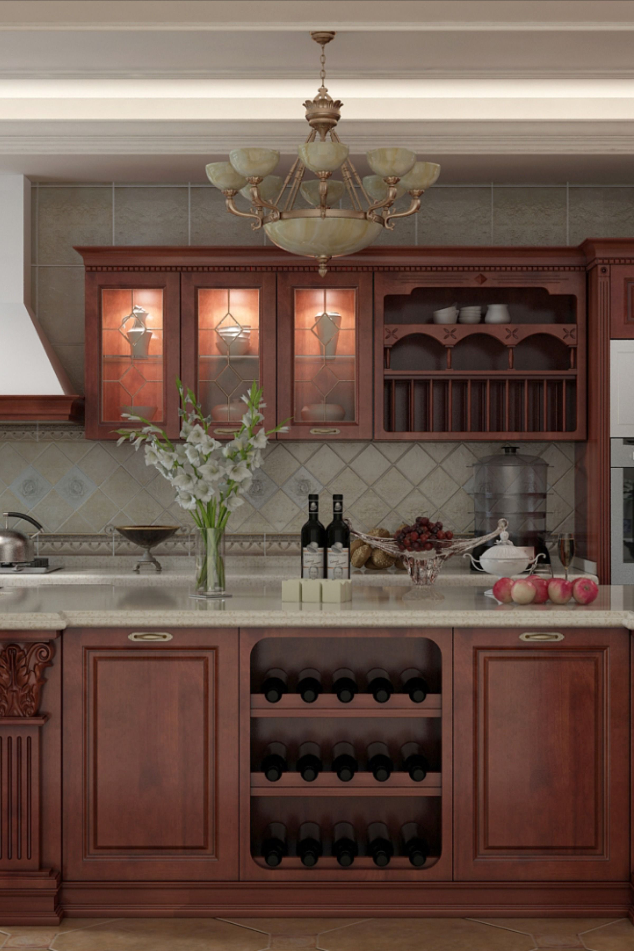 Classic Solid Wood Kitchen Cabinet Georgebuildings In 2020 Solid Wood Kitchen Cabinets Wood Kitchen Cabinets Kitchen Cabinets