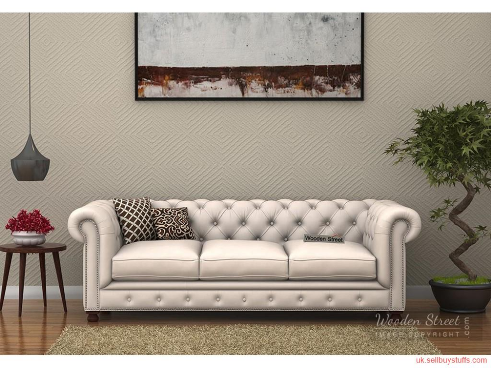 Second Hand New Get Sofa Sets At Best Price In Uk At Woodenstreet Fabric Sofa Chesterfield Sofa Sofa Frame