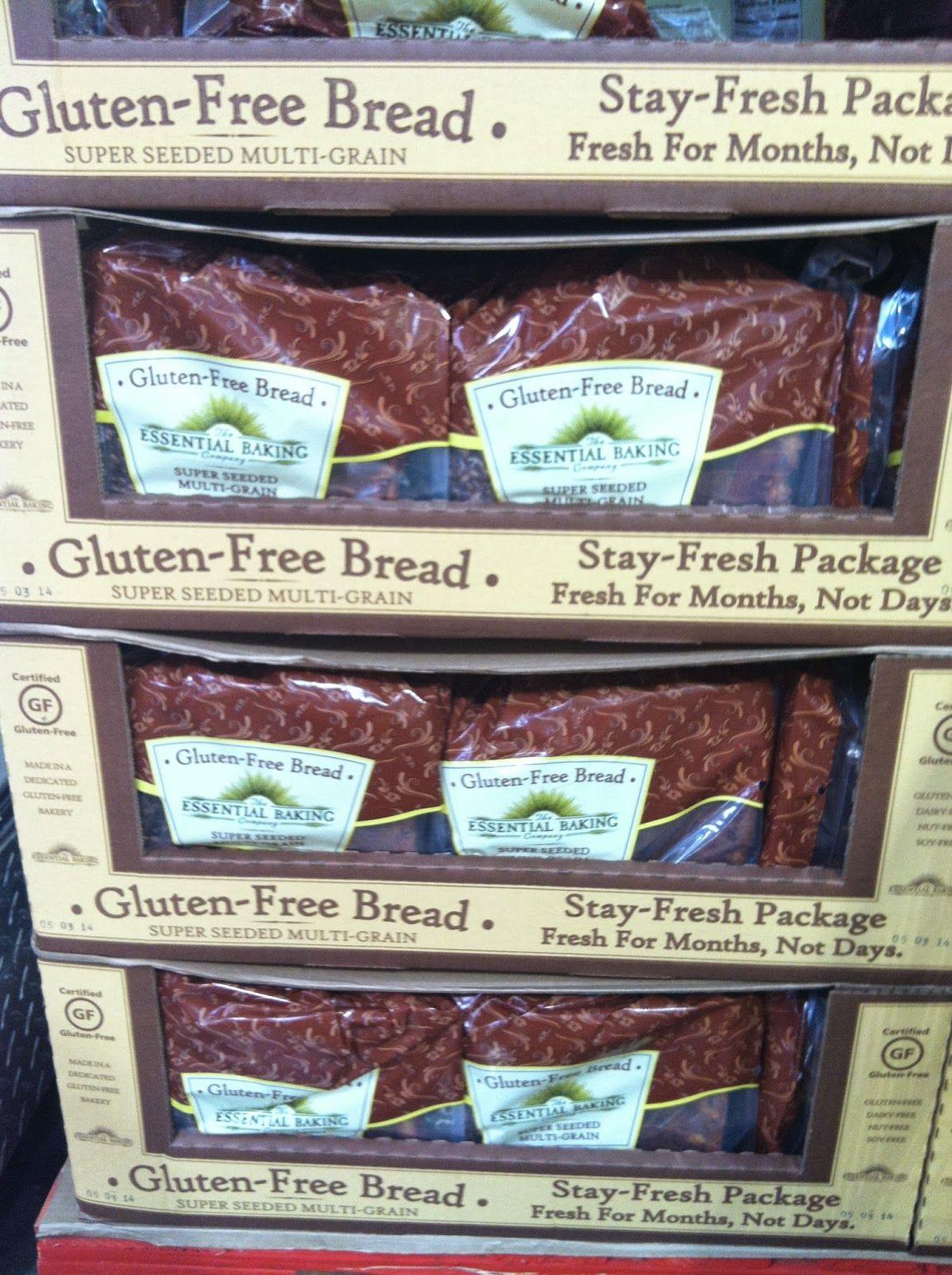 Essential bakery seeded gluten free bread 2 loafs 799