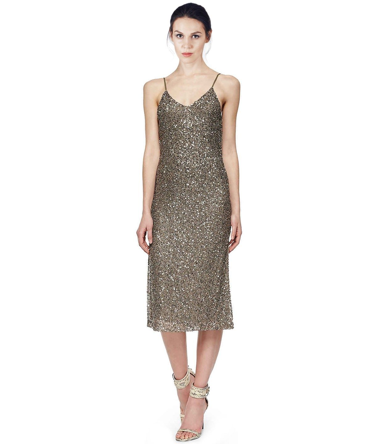 Alice and olivia yelena sequined mesh sleeveless v neck cocktail alice and olivia yelena sequined mesh sleeveless v neck cocktail dress aliceandolivia ombrellifo Images