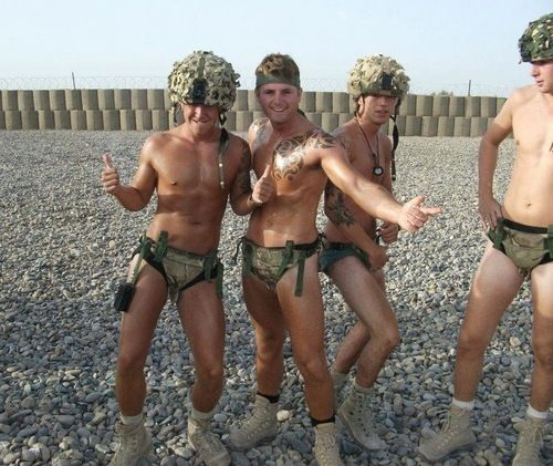 Worlds sexiest army guys