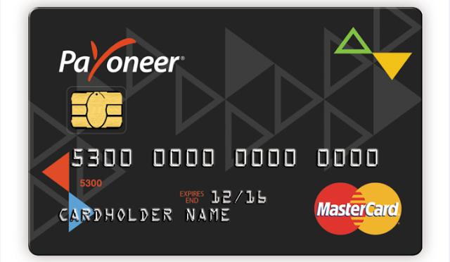 كيفية متابعة طلب بطاقة ماستر كارد بايونير Payoneer Master Card واسرار الحصول علي بطاقة Payoneer Cards Card Holder Names