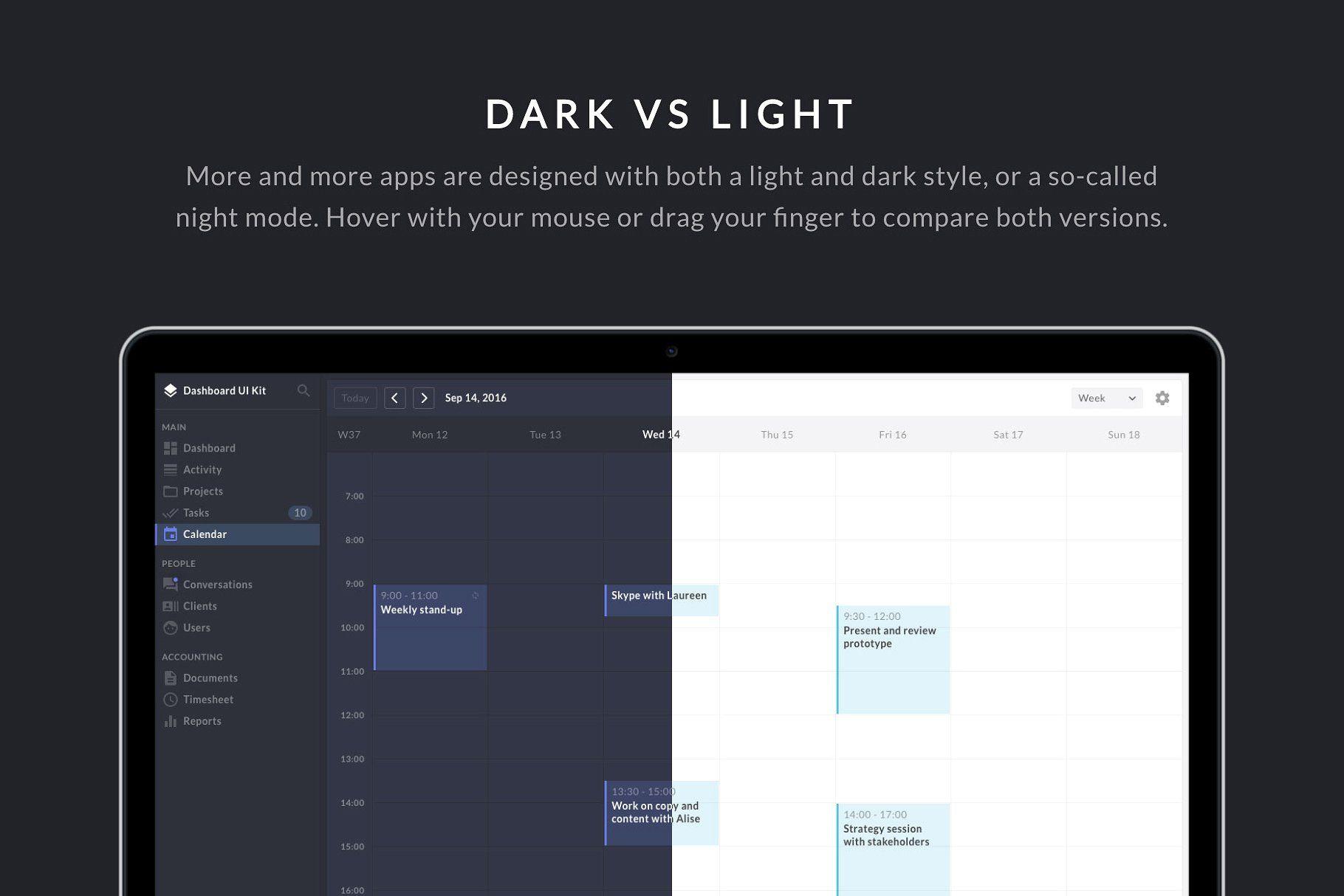 Dashboard Ui Kit For Sketch Website Templates Website Design Web