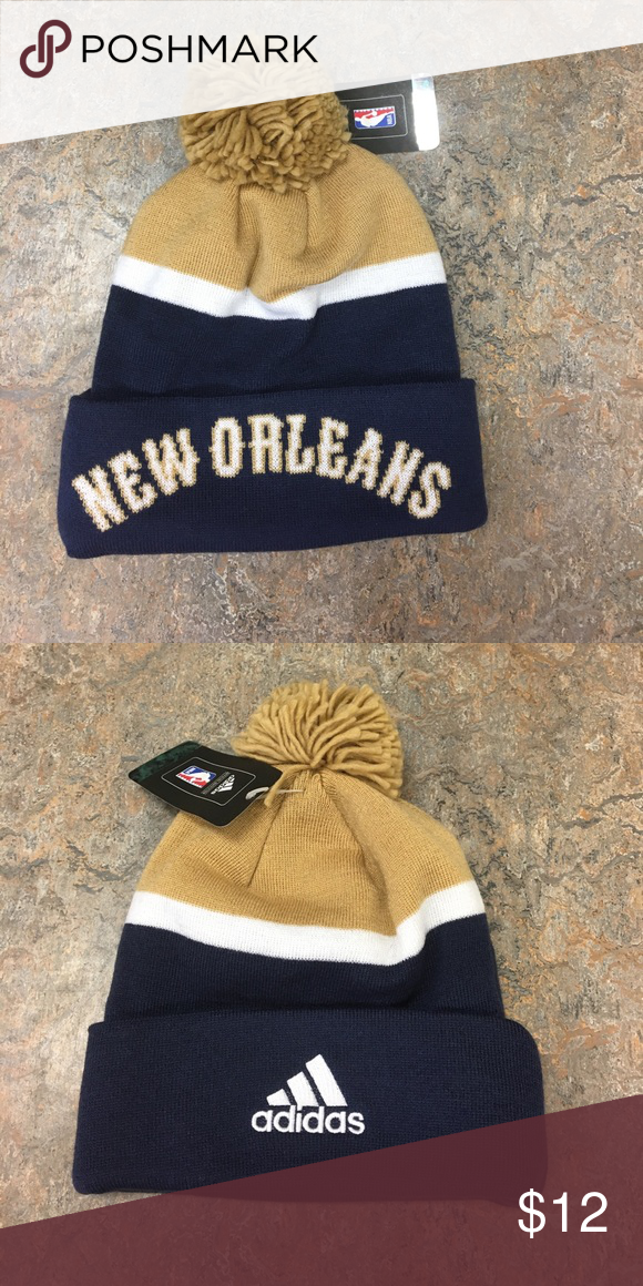 d52b363b9ee New Orleans Pelicans Adidas NBA beanie hat cap Brand new with tags  officially licensed New Orleans Pelicans beanie. adidas Accessories Hats