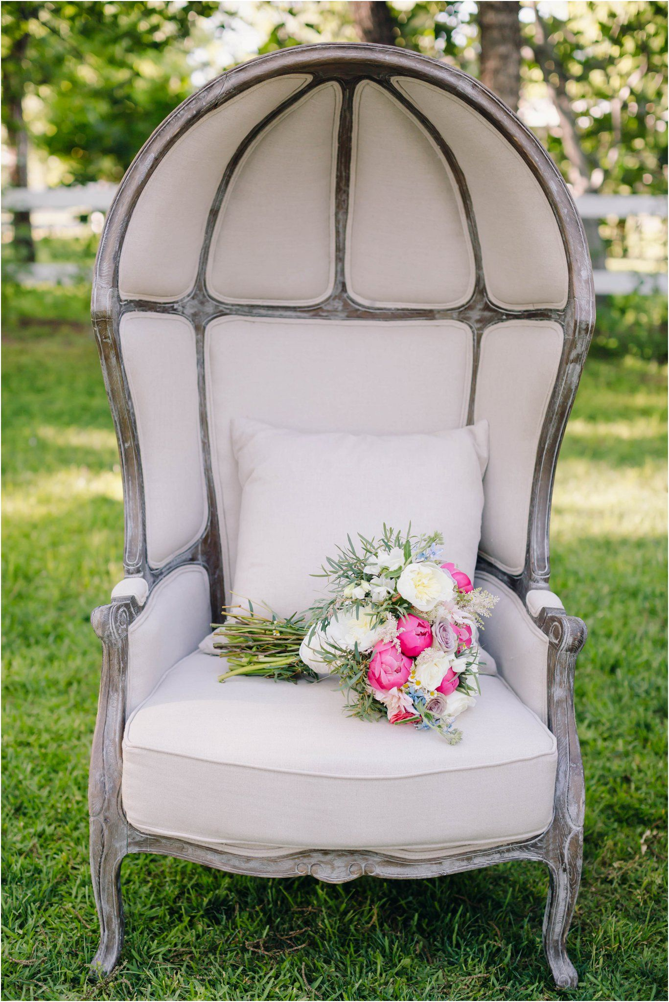 Elegant and whimsical garden wedding inspiration at the