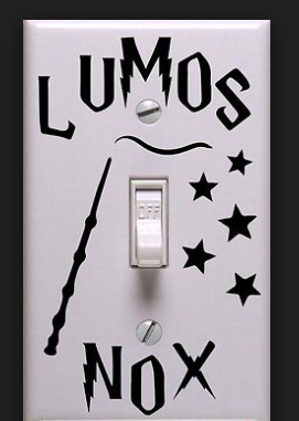 Harry Potter Lumos Nox Light Switch Sticker No 6 Aliexpress Affiliate S Buyable Pin View The Harry Potter Room Decor Harry Potter Bedroom Harry Potter Room