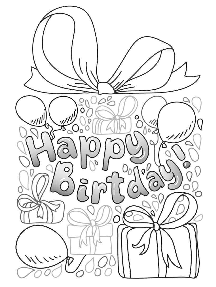 Happy Birthday Doodle - Doodle is Art | Happy birthday doodles
