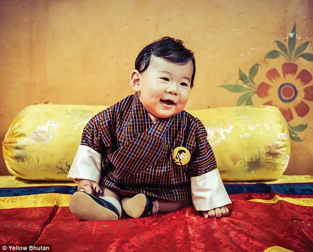 Baby Prince Of Bhutan Features In New Royal Calendar Bhutan - The most eco friendly country in the world just planted 108000 trees to celebrate a new royal arrival