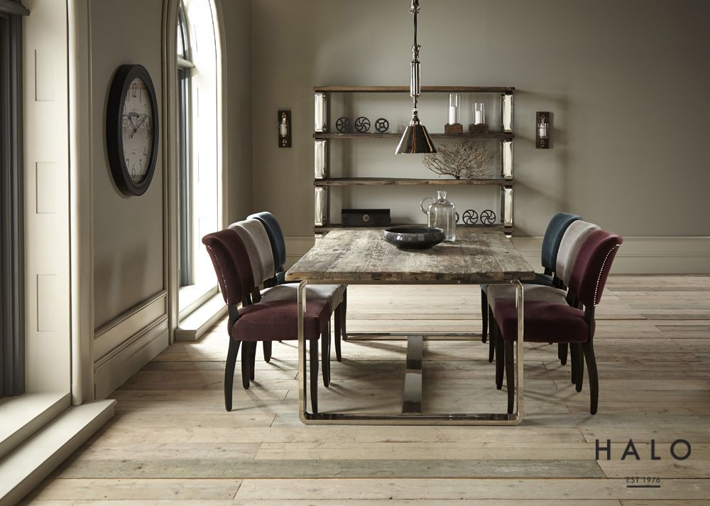 Condo Dining Table with Mimi Dining Chairs from Dansk