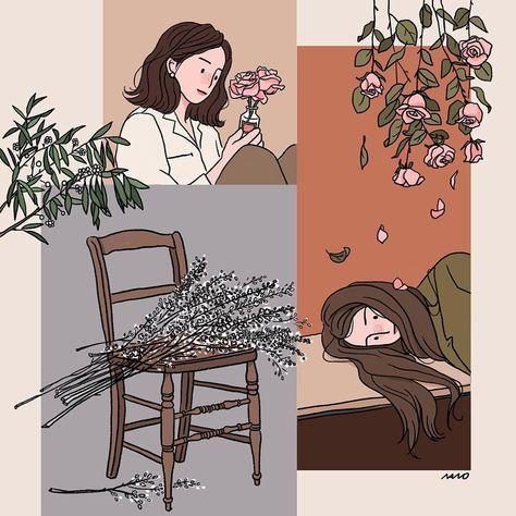 39 new Ideas for flowers illustration autumn