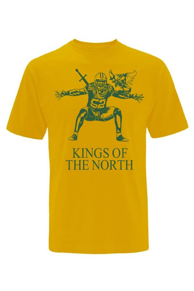 Image of Green Bay Packers Clay Matthews Kings of The North unisex t-shirt bcfa80da8